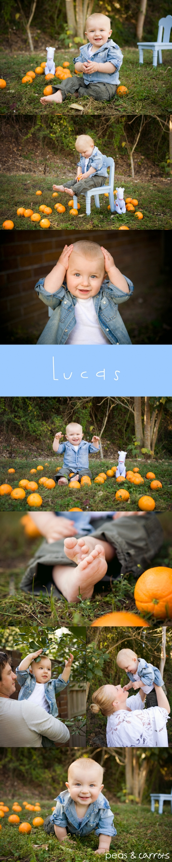 Brisbane Baby Photography - Peas + Carrots Photography