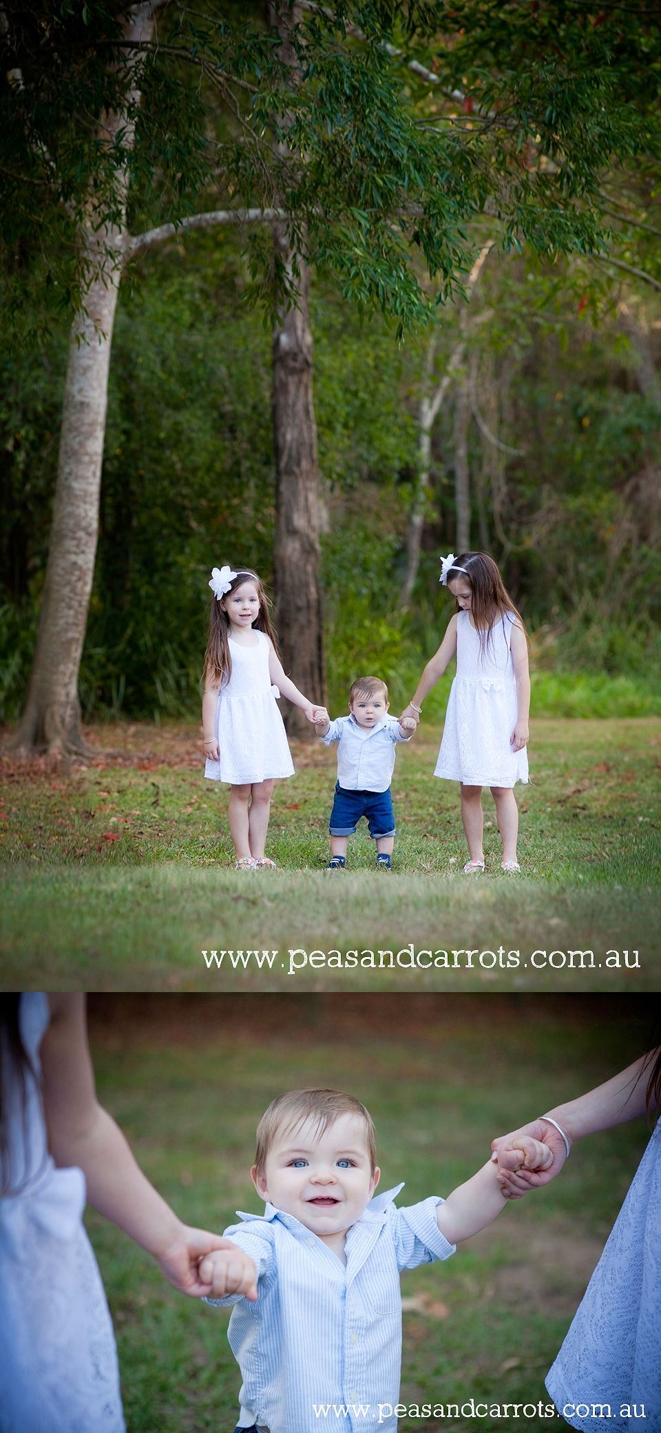 Brisbane, Dayboro and Samford Baby, Children & Family Portrait Photography ~ Peas & Carrots Photography.  Award winning children