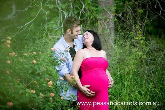 Brisbane, Brisbane Maternity Photography, Cass and Colin 37 weeks for their pregnancy portrait session photography at Old Petrie Town Brisbane Queensland Australia.  Peas & Carrots Photography specialises in beautiful maternity and pregnancy photography i