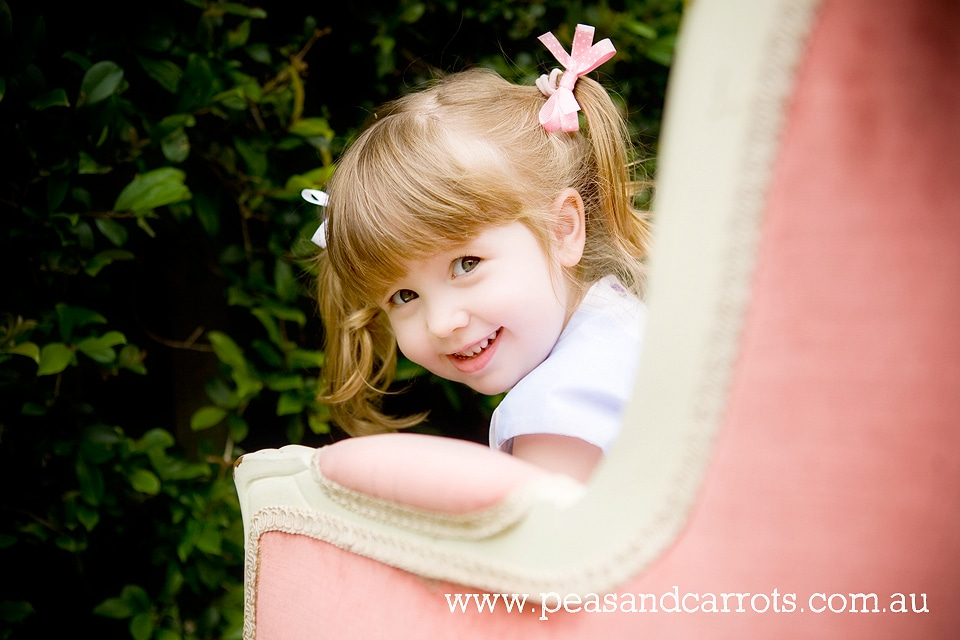 Brisbane Child Photography.  Childrens Photographer Brisbane Dayboro Samford whimsical images of children and animals at play, girl and her pet guinea pig.  Brisbane Childrens Photography, Brisbane Baby, Children & Family Portrait Photography ~ Peas & Carr