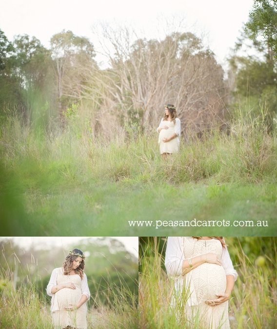 Maternity Photography Brisbane Dayboro Samford, Brisbane Maternity Photography, Tamara 37 weeks pregnancy portrait session photography at Mount Samson Brisbane Queensland Australia.  Peas & Carrots Photography specialises in beautiful maternity and pregna