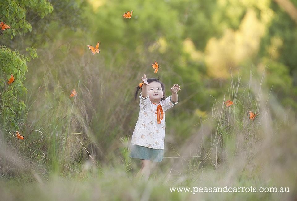 Childrens Portrait Photography Brisbane Dayboro and Samford.  Brisbane Northside Childrens Photographer.  Brisbane Baby, Children & Family Portrait Photography ~ Peas & Carrots Photography.  Award winning children