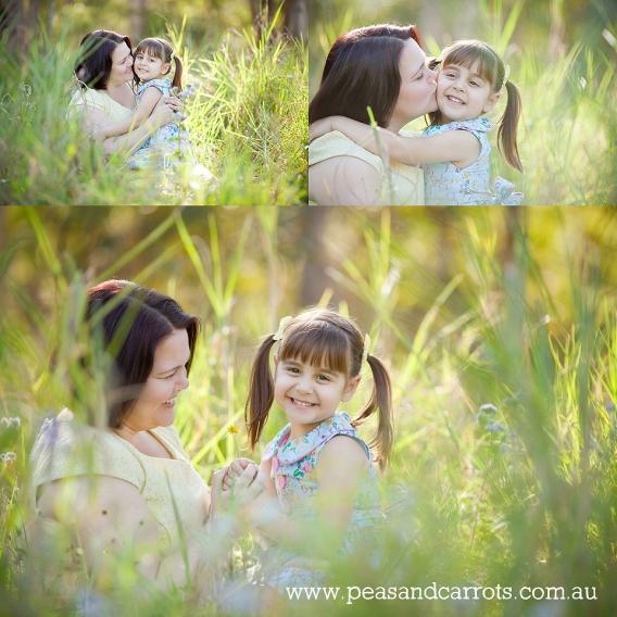 Family Photography Brisbane Dayboro and Samford.  Brisbane Baby, Children & Family Portrait Photography ~ Peas & Carrots Photography.  Award winning children